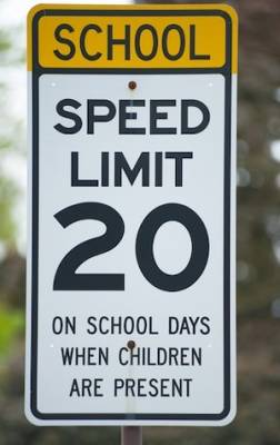 Illinois school zone traffic violation attorney