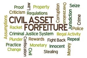 Naperville criminal defense lawyer, civil asset forfeiture, seized assets, criminal investigation, burden of proof