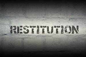 DuPage County criminal defense lawyer restitution